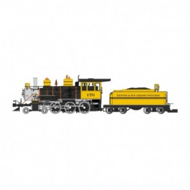 BAC91803 G 4-6-0 w/Tender  D&RGW/Bumble Bee